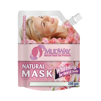 Unisex Dead Sea Mud Mask Whitening For Face & Body - 200 gm