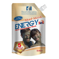 Unisex Dead Sea Mud Mask 3 In 1 Energy For Face Body Hair - 500 gm