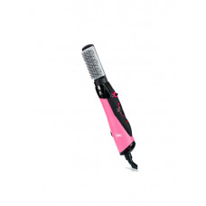 Pink Hot Air Dryer With Brush
