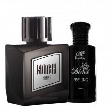 Black Somah and Feeling Blend Perfume Set for Men