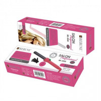 Pink and Black Professioal Hair Curler with Gloves - RE-2030-22